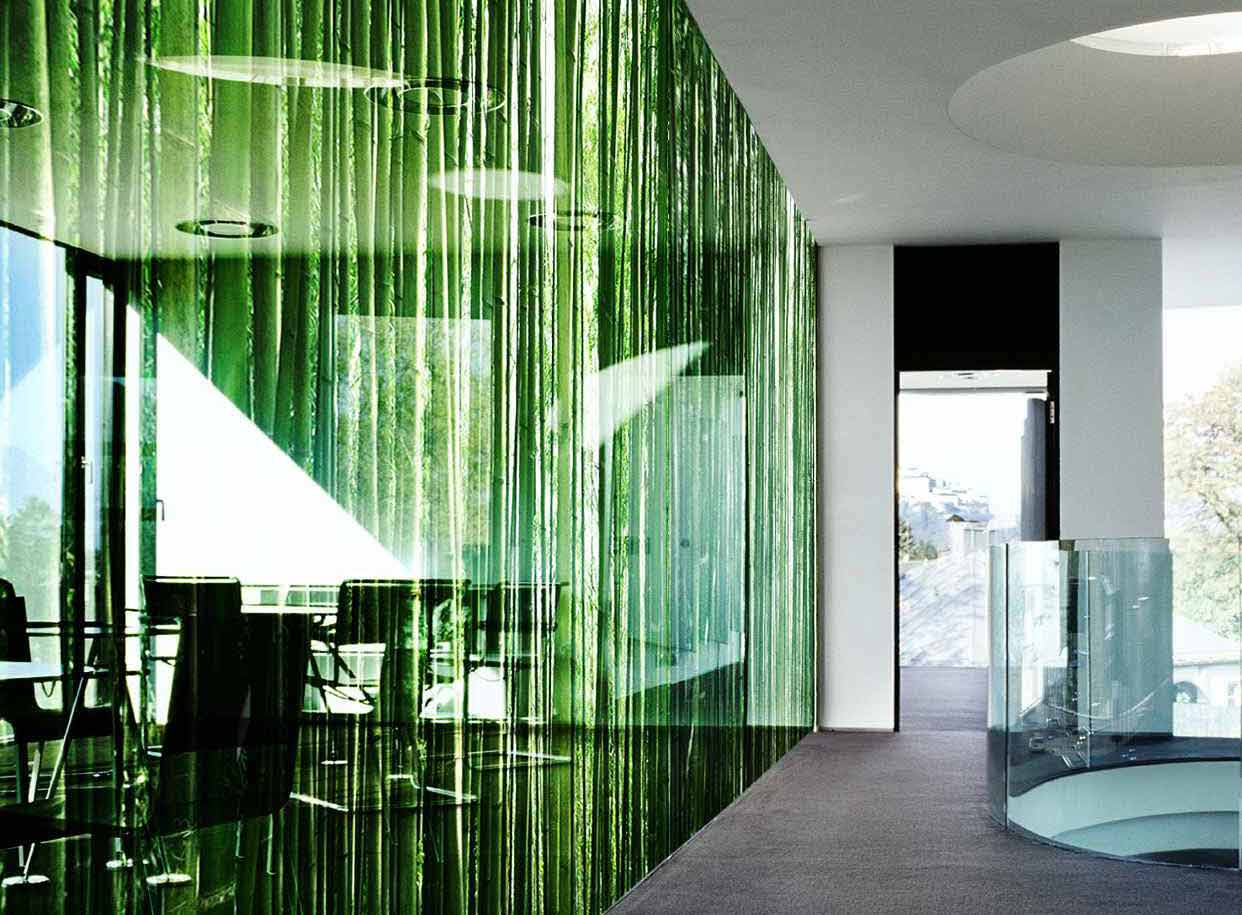 Digital Printed Glass Wall